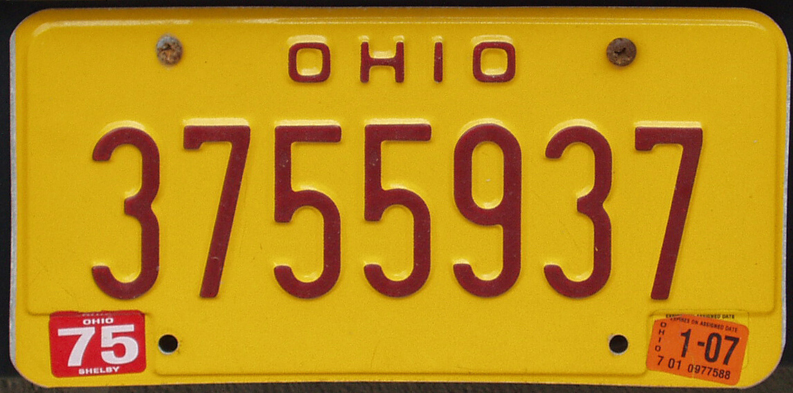 Using special license plates for DUI offenders and ignition interlock users