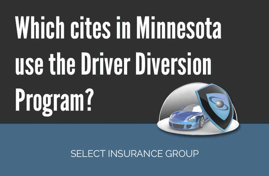 Which cites in Minnesota use the Driver Diversion Program?