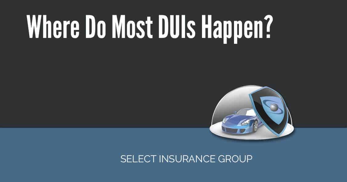 Where Do Most DUIs Happen?