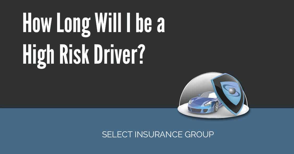 How Long Will I be a High Risk Driver?