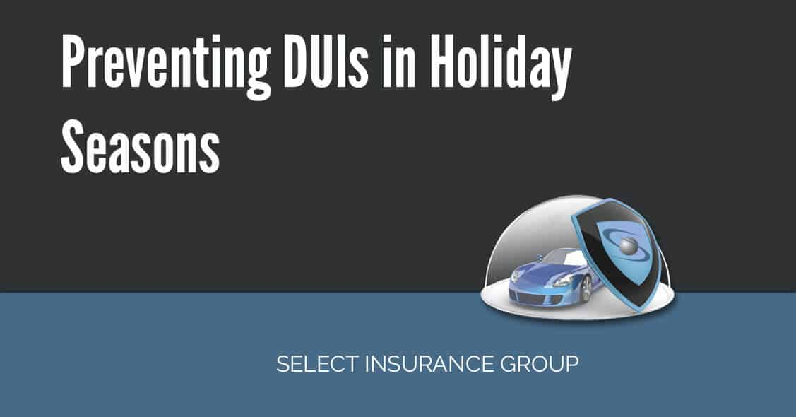 Preventing DUIs in Holiday Seasons