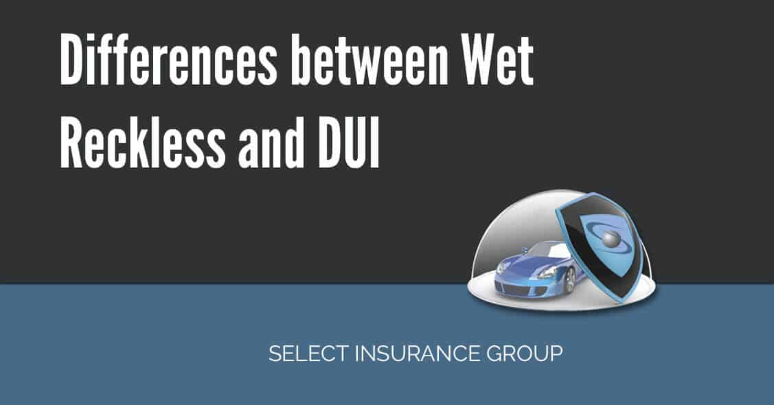 Differences between Wet Reckless and DUI