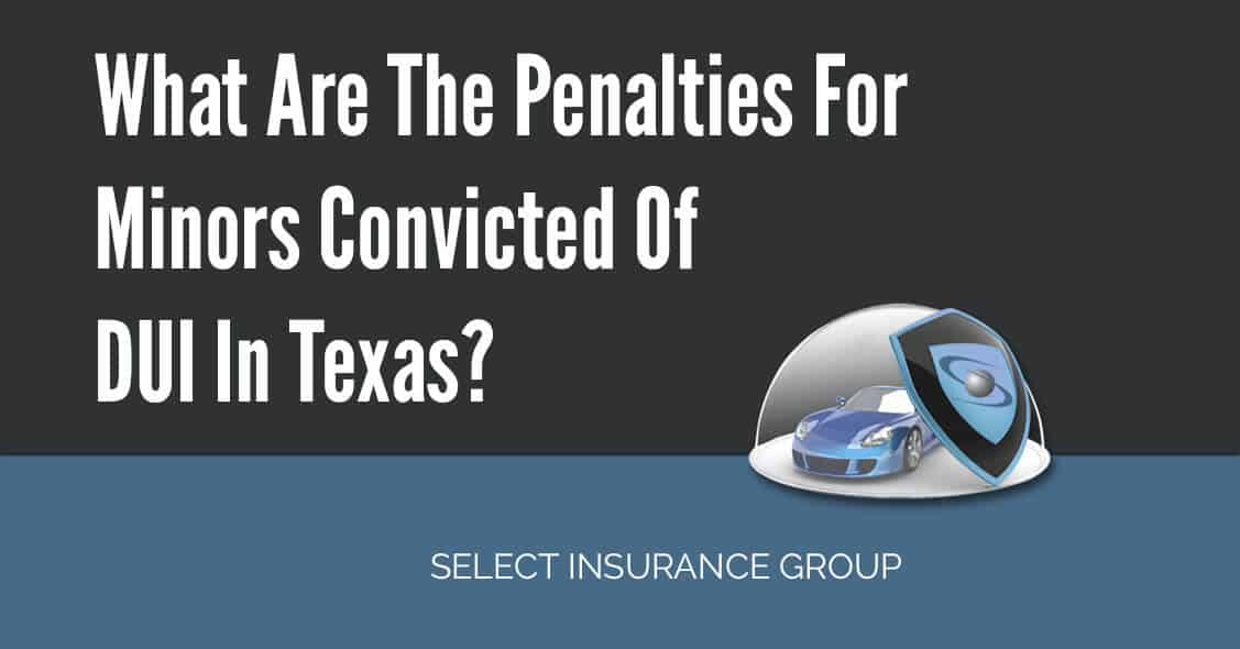 What Are The Penalties For Minors Convicted Of DUI In Texas?