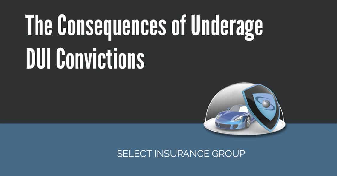 The Consequences of Underage DUI Convictions